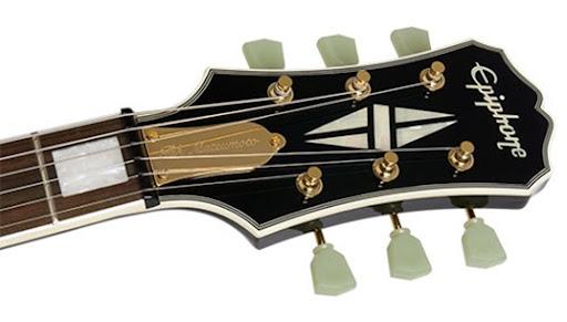 epiphone les paul custom headstock. Traditional Les Paul Custom