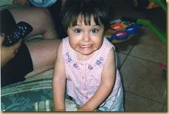 Elena dentini 2 anni