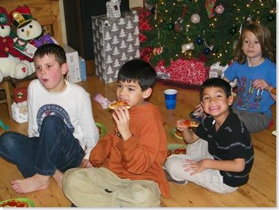 Blaine, Michael, Timothy, Orrey