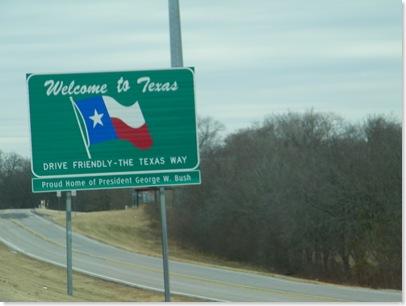 I-35 Texas going south