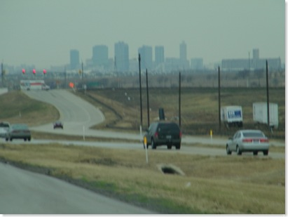 I-35 Texas going south--Fort Worth