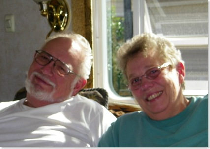 George & Nancy Reid while in SA, TX