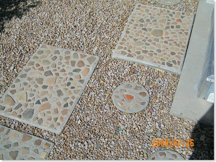 pavers and steps made by Jim and Toma