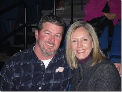 Rick n Steph at Celine concert