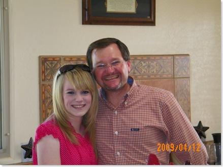 Heidi and dad, Tim Pruit