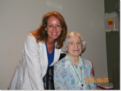 Dr. Wise and Mama Trudy - post cataract