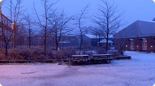 eventyrligt snevejr