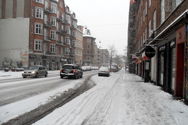 Vesterbrogade december 2010
