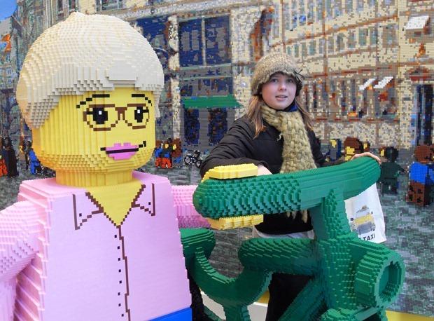 Lego på Strøget