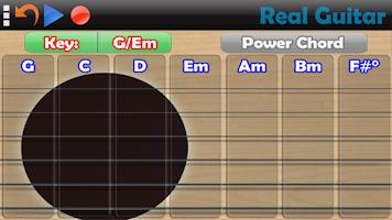 Screenshot of Real Guitar