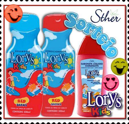 Sorteio Lorys Kids - Sther