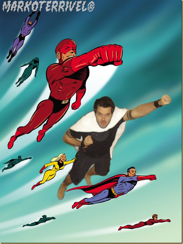 Max na Liga dos Super-Heróis