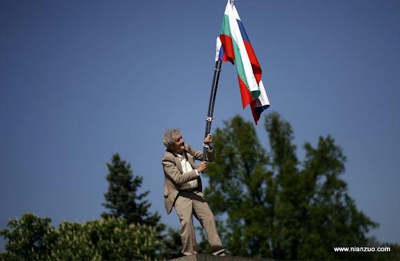 俄罗斯5月9日大阅兵 老革命了