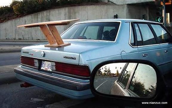 改装汽车就要有尾翼
