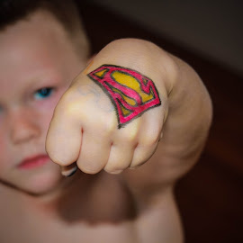 Superman by Whittney Maree - Babies & Children Hands & Feet ( hand, child, hero, superman, do, dof )