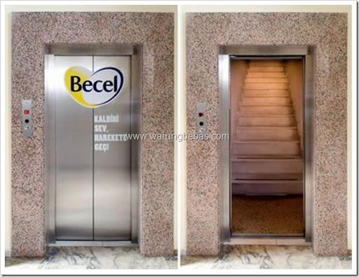 lift-tangga