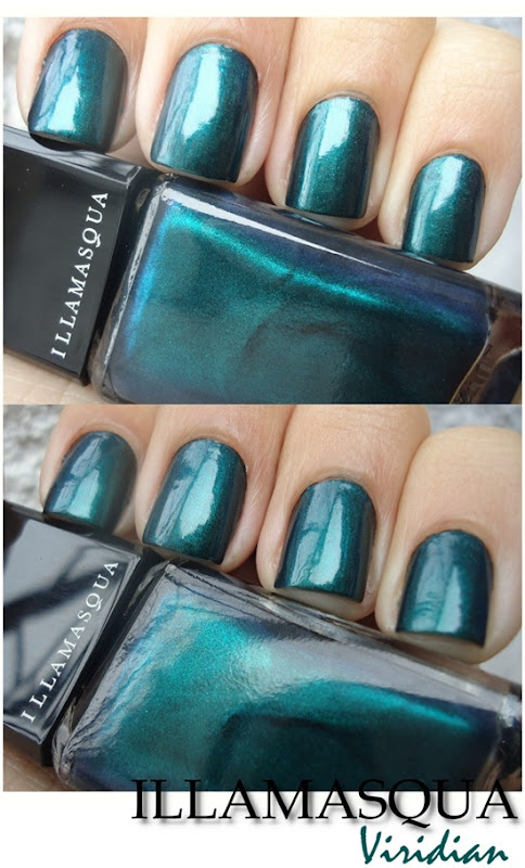 Illamasqua Nail Varnish - Viridian (2)