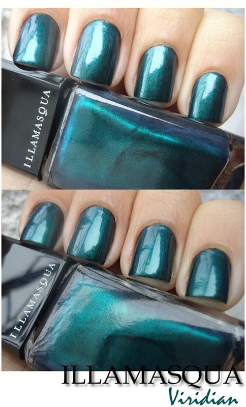 Illamasqua Nail Varnish - Viridian (2)
