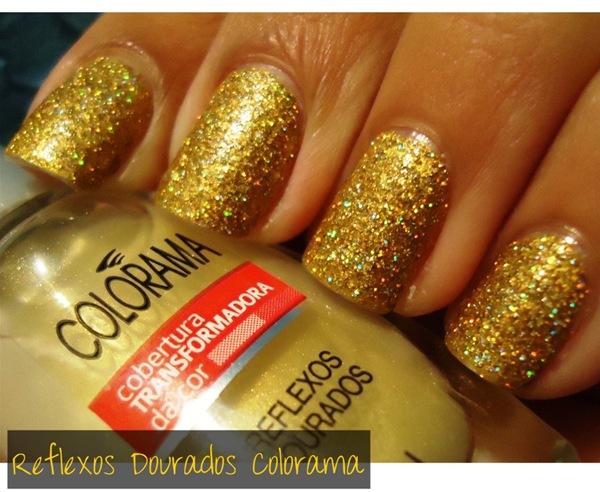 Cobertura Reflexos Dourados Colorama