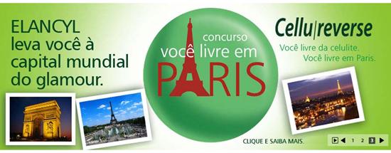 Concurso Cultural Elancy - Você Livre em Paris