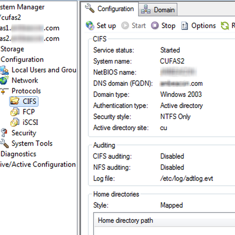 Folder redirection fun with DFS and NAS