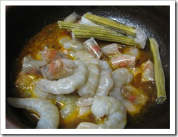 Prawns in Coconut Gravy 5