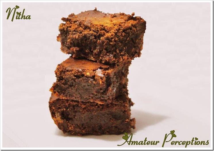 Triple Chocolate Brownie 9