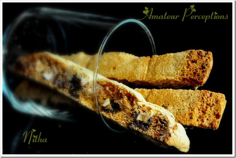Almond Chocolate Biscotti 2