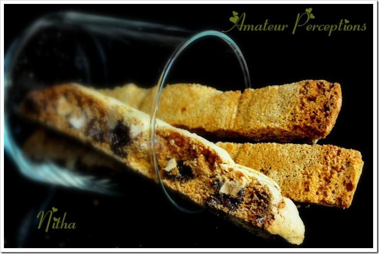Almond Chocolate Biscotti 2
