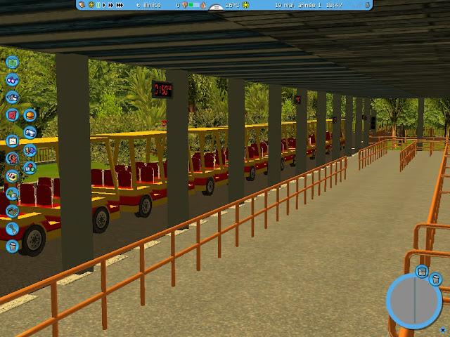 [recréation]Studio tram tour behind the magic![GRprod] Shot0064