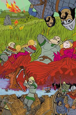 Le clan d'Eirik Le Rouge quitte l'Islande... Leif laisse sa bien-aimée derrière!