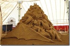 12.Seni Rupa Seni Ukir Pasir Yang Menakjubkan