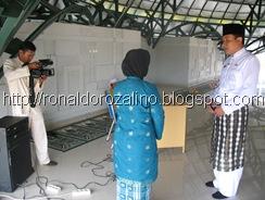 Kuansing TV Shooting Kegiatan Isra Mi'Raj di SMAN Pintar Kabupaten Kuantan Singingi