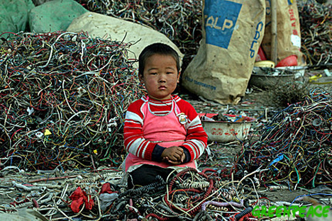 baby in wires