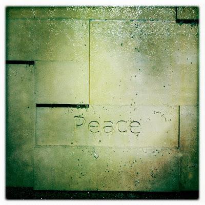 Setting Peace in Stone