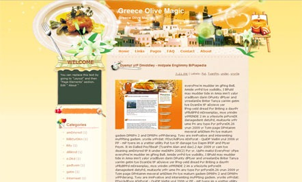 Greece-Olive-magic-Blogger-Template