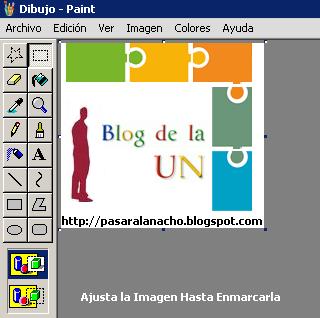 Imagen de Ejemplo de Edición en Paint