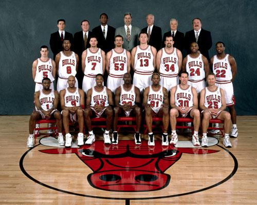El mejor equipo de todos los tiempos:Los Bulls de jordan