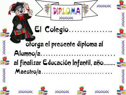 formatos de diplomas de aprovechamiento escolar