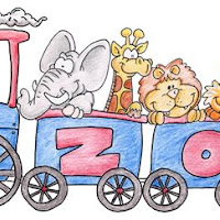 At the Zoo - Painted - Zoo Train.jpg