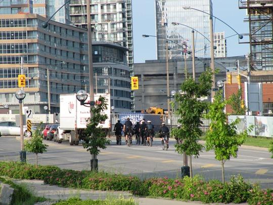 Toronto Police Bicycles