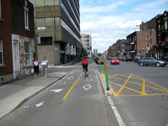 Montreal Bike Lanes