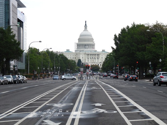 Pennsylvania Ave bike lanes