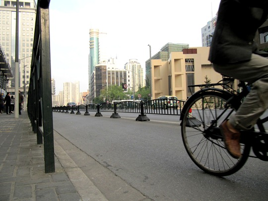 Shanghai bike lane