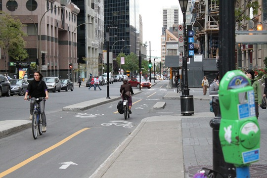 Bicycling in Montreal