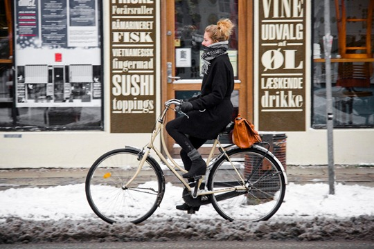 Winter Bicycling