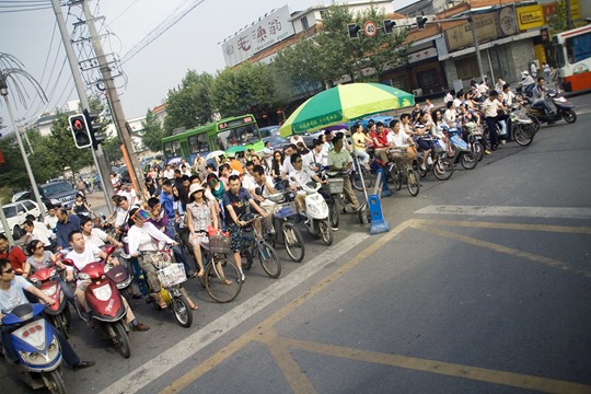 ChinaBikeTraffic