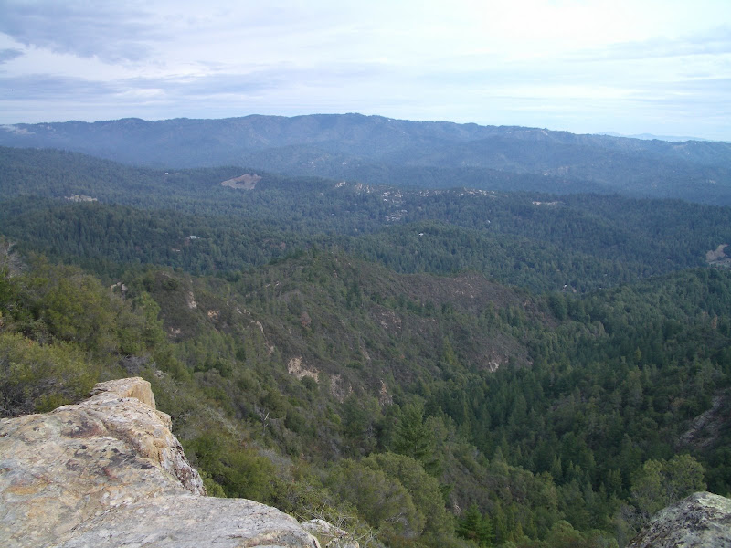View from Eagle Rock with Castle Rock SP on the horizon