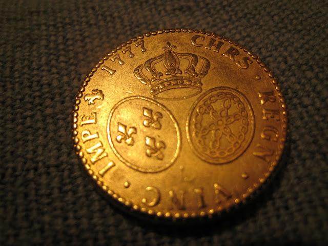 Imitation d'un louis d'or au buste habillé dit aux lunettes IMG_1967
