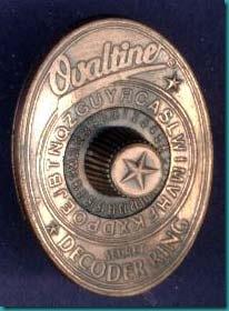Ovaltine Decoder Ring